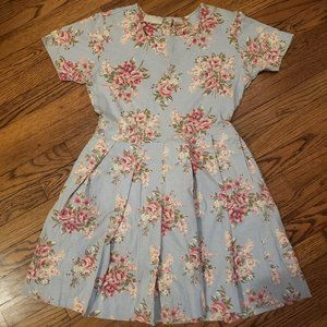 Vintage Pierre Cardin Cotton Floral Dress